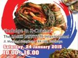 Korean Food Market at Sages Institute School of Culinary Surabaya