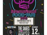 The Sages Institute – International Food Fair 2018